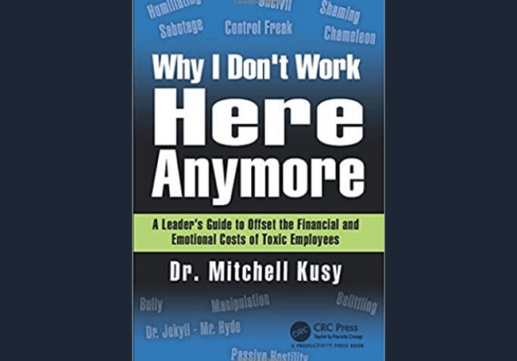 Why I don't Work Here Anymore, by Mitchell Kusy
