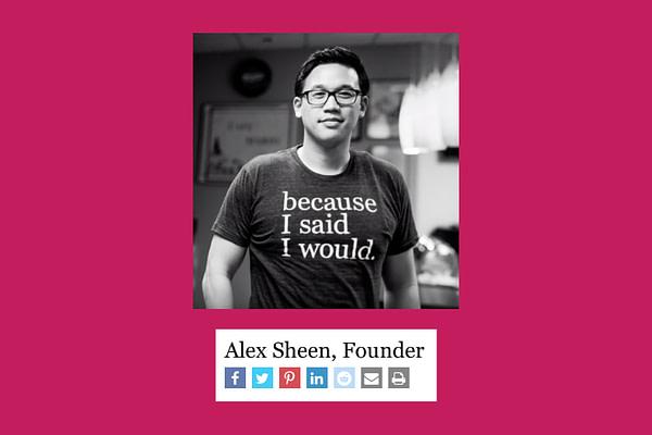 Alex Sheen - Because I Said I Would