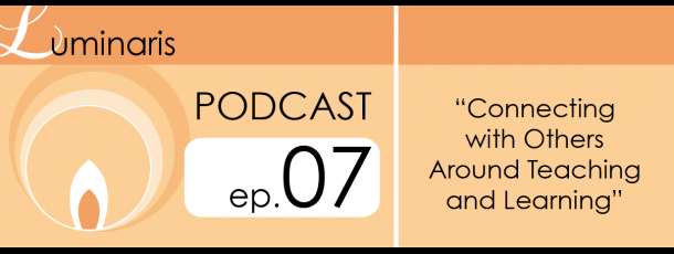 Click to access the podcast on the Luminaris site.