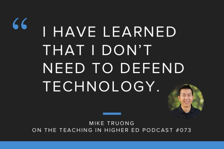 Changing our minds about teaching