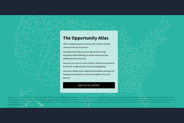 The Opportunity Atlas