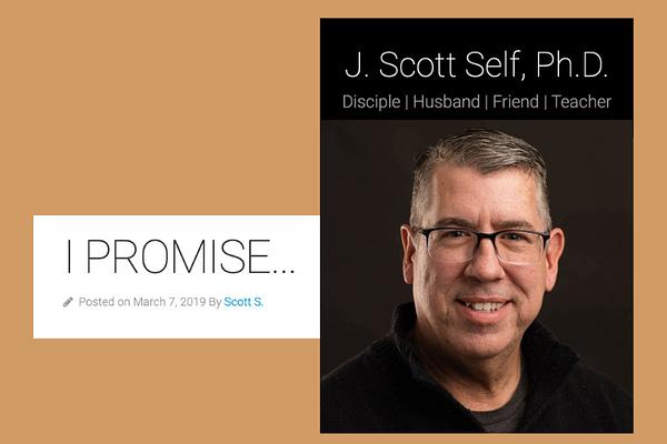 I promise, by Scott Self