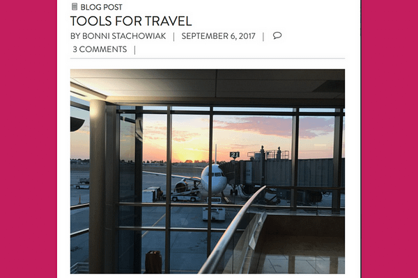 Robert Talbert's recommendations in the comments of the Tools for Travel post on Teaching in Higher Ed. (TSA precheck; $85 for five years)