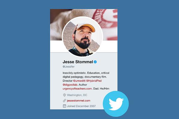 Jesse Stommel on Twitter
