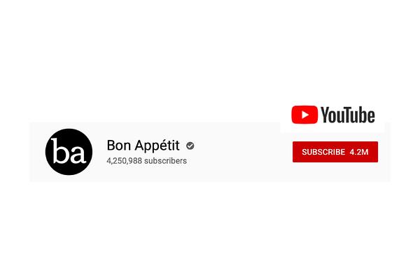 Bon Appétit videos