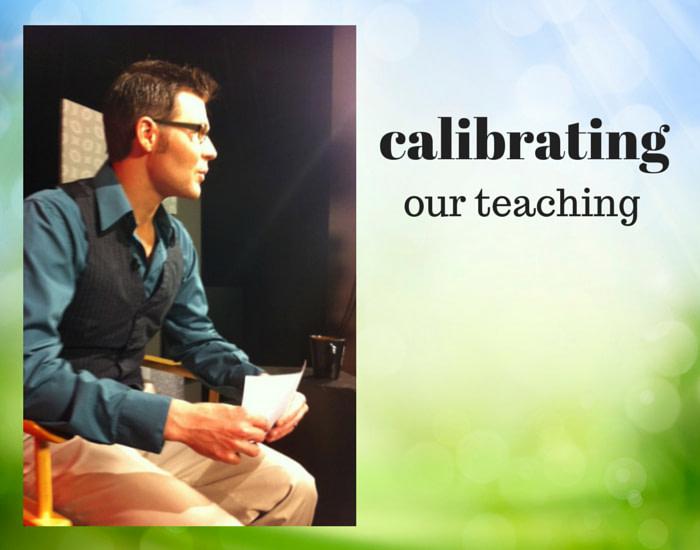 calibrating