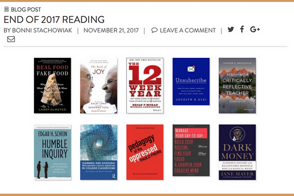 End of 2017 Reading_ Informal Book Club – Survey