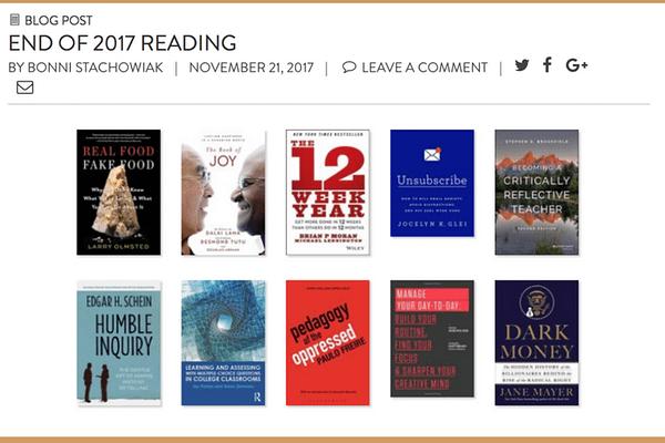 End of 2017 Reading_ Informal Book Club – Survey