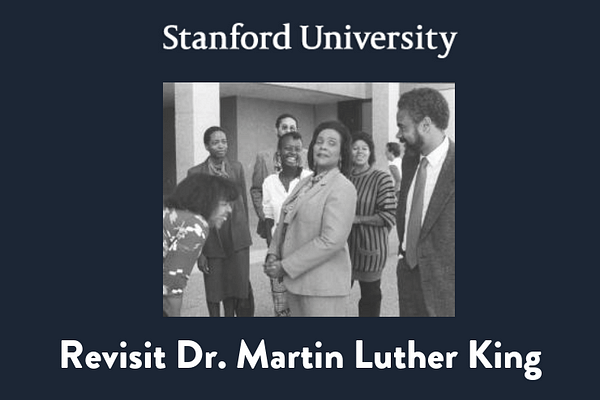 Revisit Dr. Martin Luther King