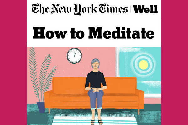 Wellness Articles from NYTimes – How to be Mindful