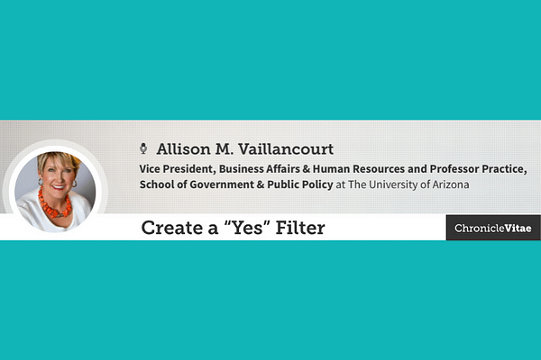 """Create a """"Yes"""" Filter"""