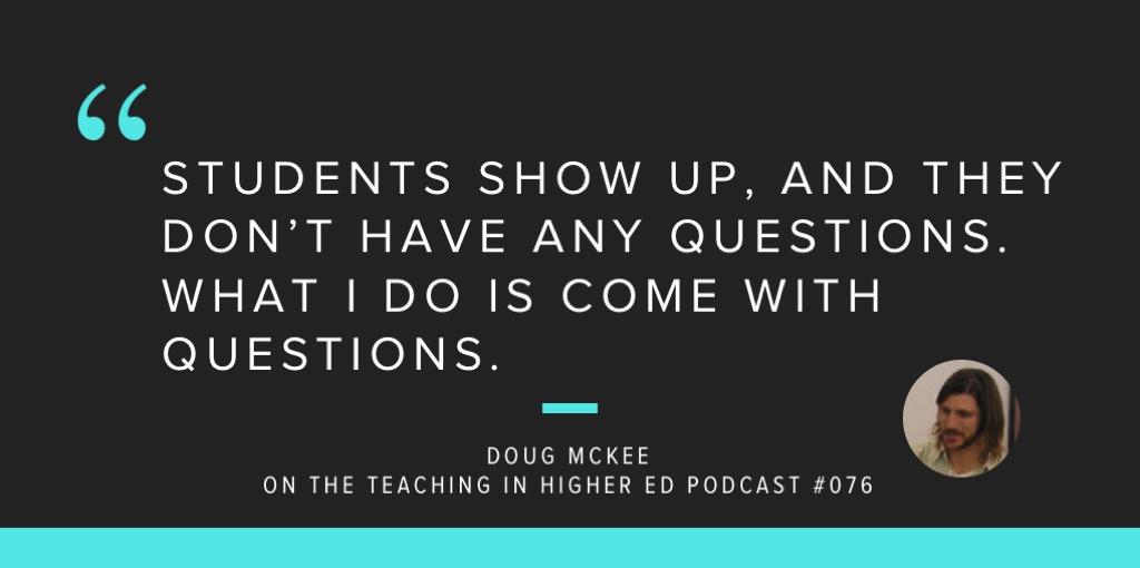 Doug Mckee talks about online courses