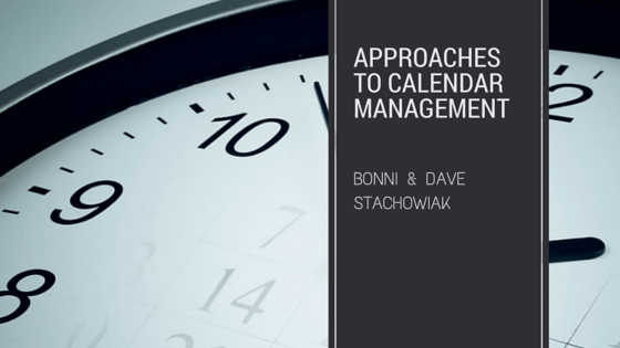 Approaches to Calendar Management