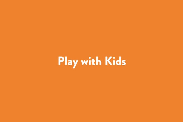 Play with kids
