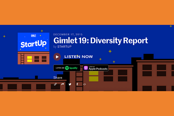 StartUp Podcast Episode #019 – Diversity Report