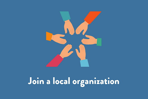 Join a local organization