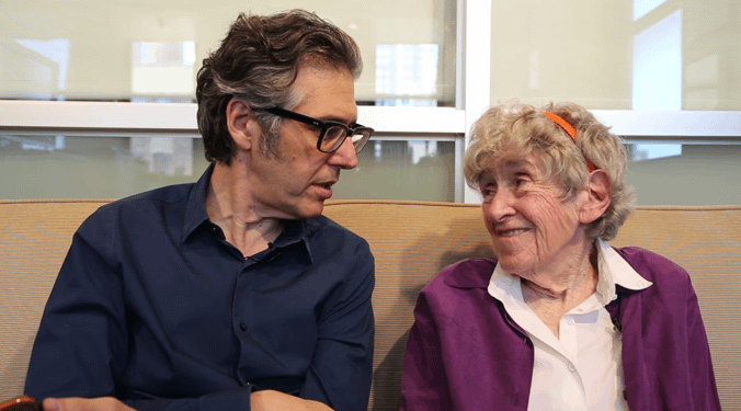 Ira Glass and Mary Ahern