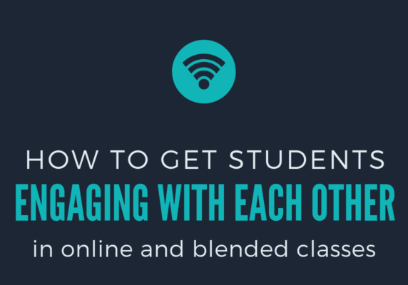 how to engage student to student graphic