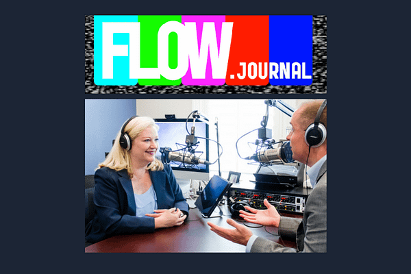 The Transformative Power of Podcasts by Bonni Stachowiak in the Flow Journal
