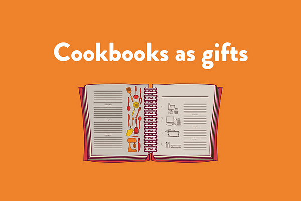 Cookbooks as gifts