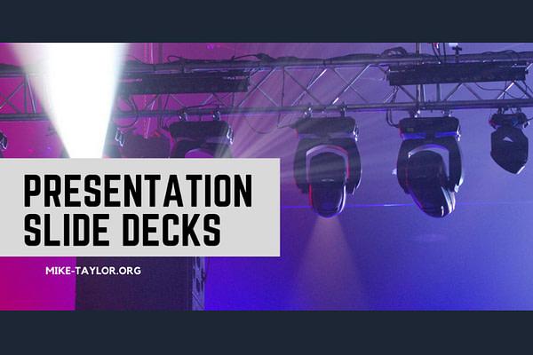 Top Presentation Slide Decks