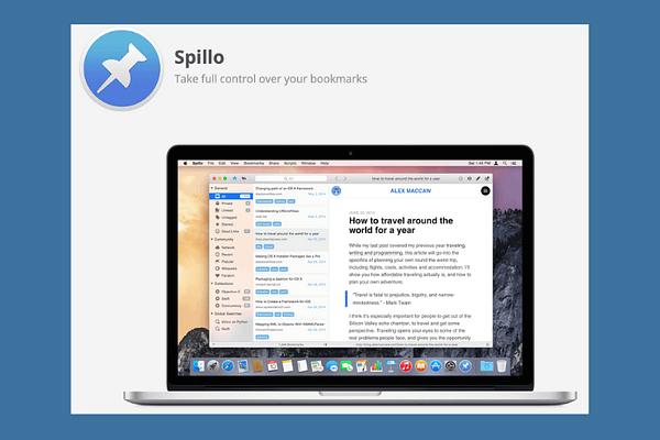 App for Pinboard: Spillo