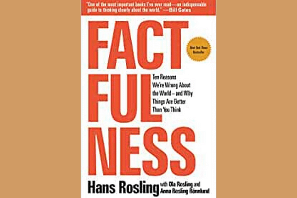 Factfulness, by Hans Rosling