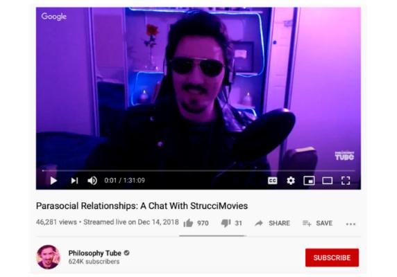 PhilosophyTube - Parasocial Relationships