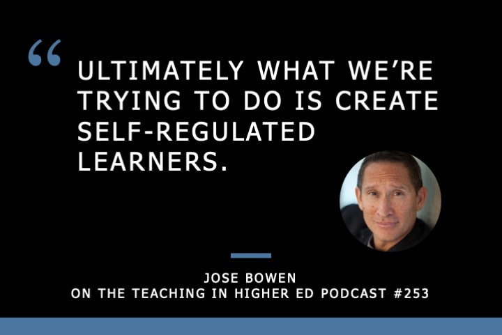 Jose Bowen on Teaching in Higher Ed