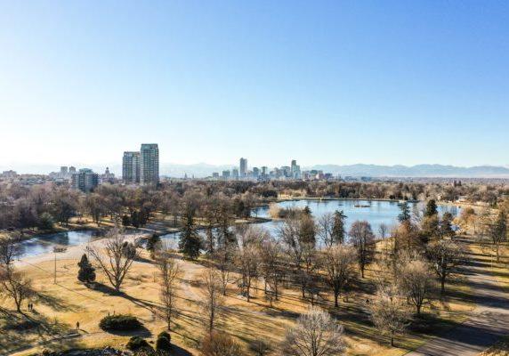 Aerial photo of Denver, Colorado