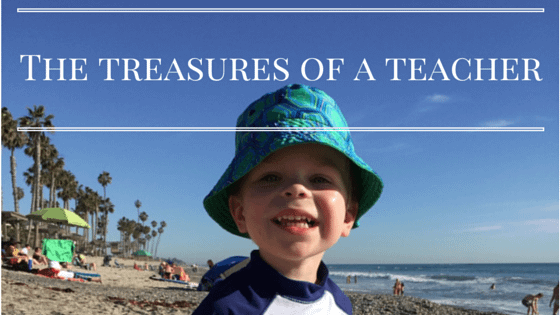 The treasures of a teacher