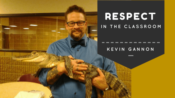 Respect in the classroom with Kevin Gannon