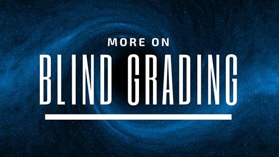 blind grading