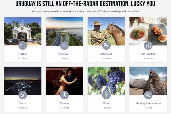 GuruGuay travel website