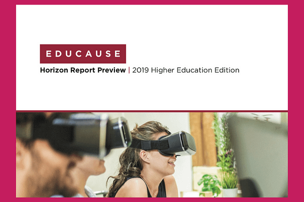 EDUCAUSE 2019 Horizon Report Preview