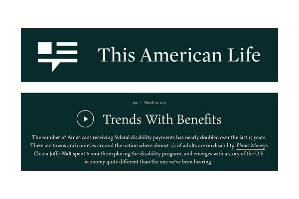 This American Life -490: Trends With Benefits