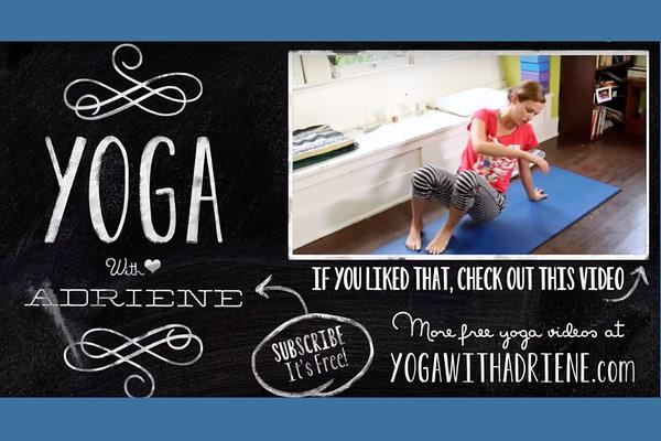 Quick Stress Fix - Yoga with Adriene