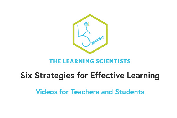 Six Strategies for Effective Learning