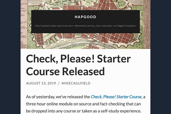 Check. Please! Starter Course