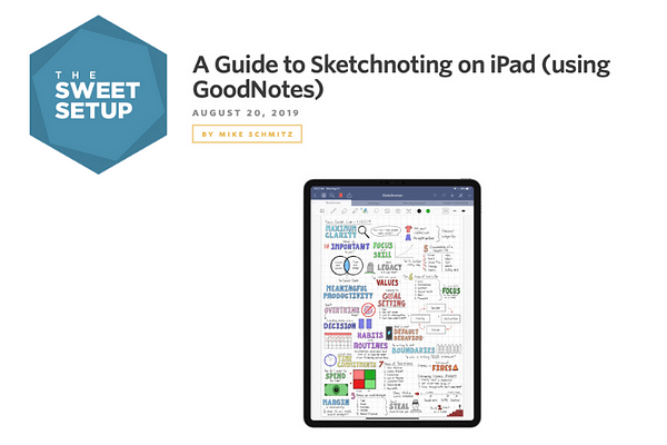 Sweet Setup Sketchnoting Guide