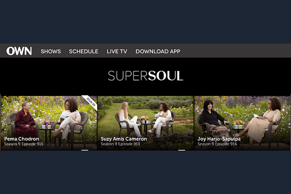 Super Soul Sunday with Oprah Winfrey
