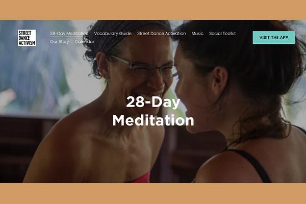28-Day Global Dance Meditation for Black Liberation