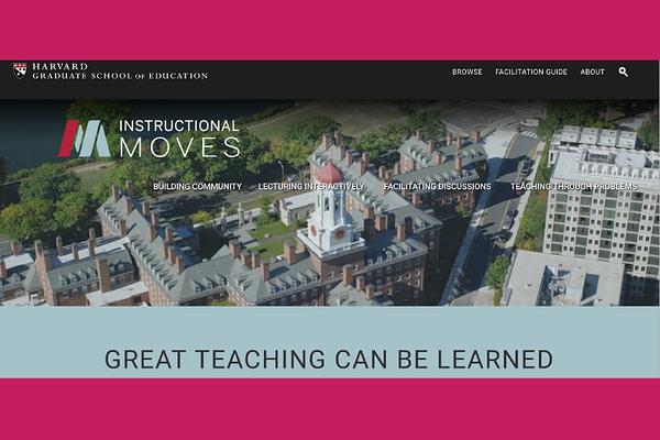 Instructional Moves | Harvard