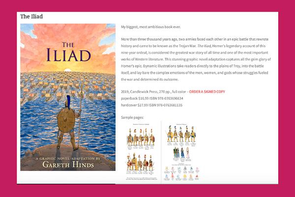 The Iliad (Graphic Novel)