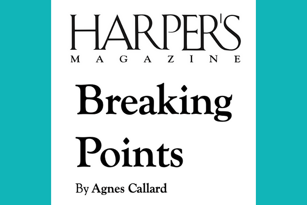 Breaking Points by Agnes Callard