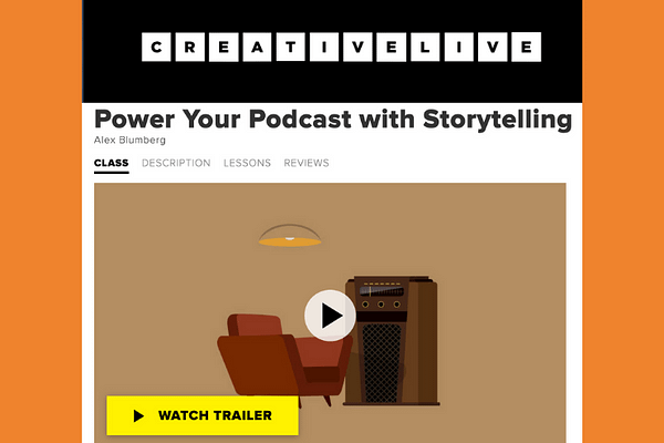 Power Your Podcast with Storytelling, Alex Blumberg