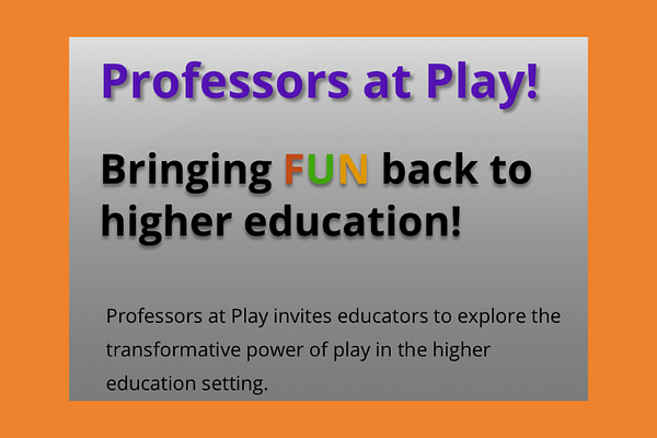 Professors at Play