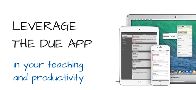 LEVERAGE THE DUE APP