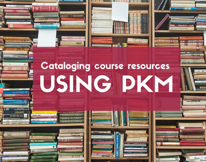Cataloging course resources