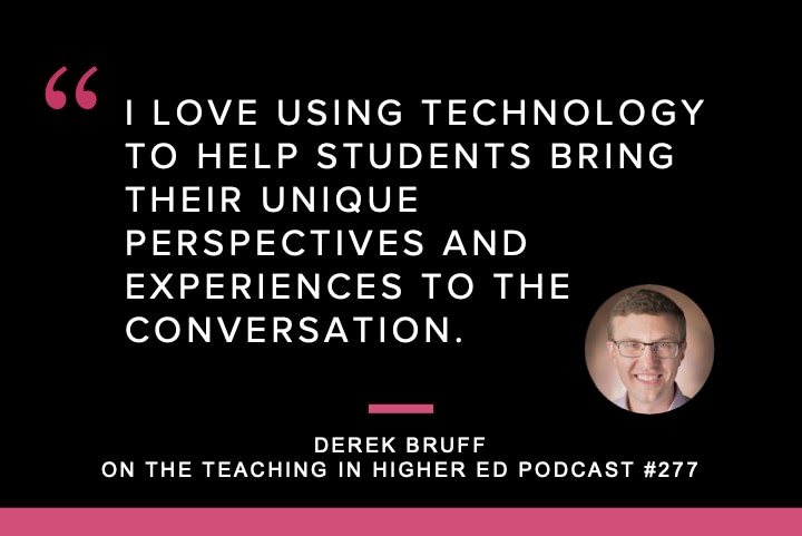 Intentional Tech, with Derek Bruff Meta Description (160 char. max): Derek Bruff discusses his book, Intentional Tech: Principles to Guide the Use of Educational Technology in College Teaching.